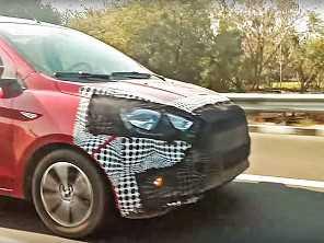 Ford Ka 'brasileiro' é flagrado rodando na Índia