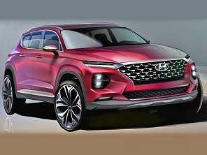 Hyundai libera primeiras imagens do novo Santa Fe