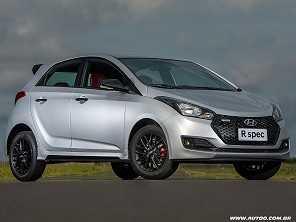 Hyundai lança o HB20 R spec Limited