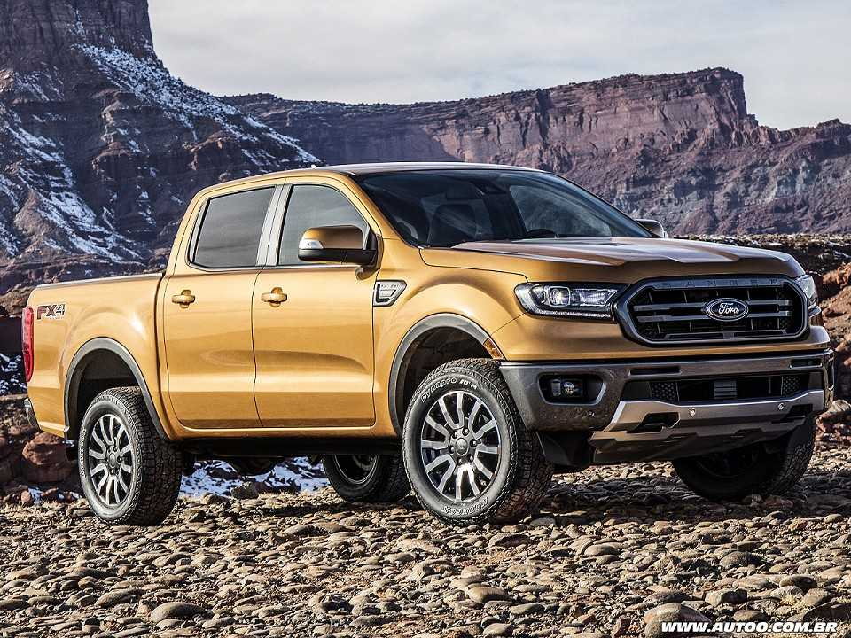 Ford Ranger 2019 destinada ao mercado norte-americano