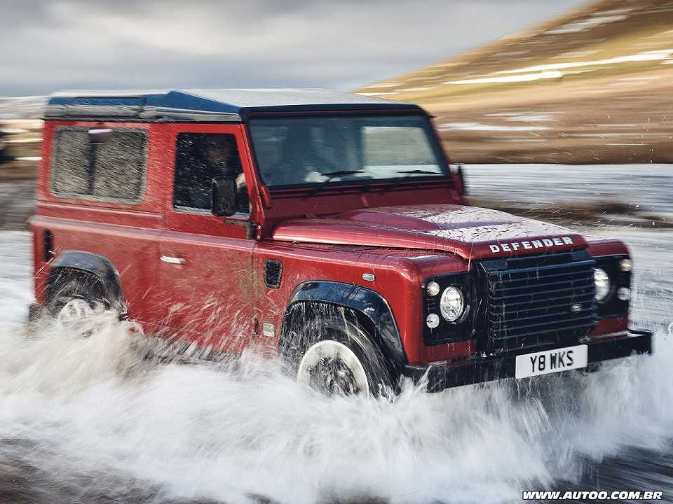 Land Rover Defender: Vem aí edição especial com 405 cavalos