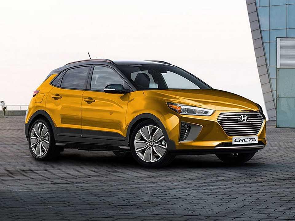 Projeção artística da segunda geração do Hyundai Creta realizada pelo designer Kleber Silva