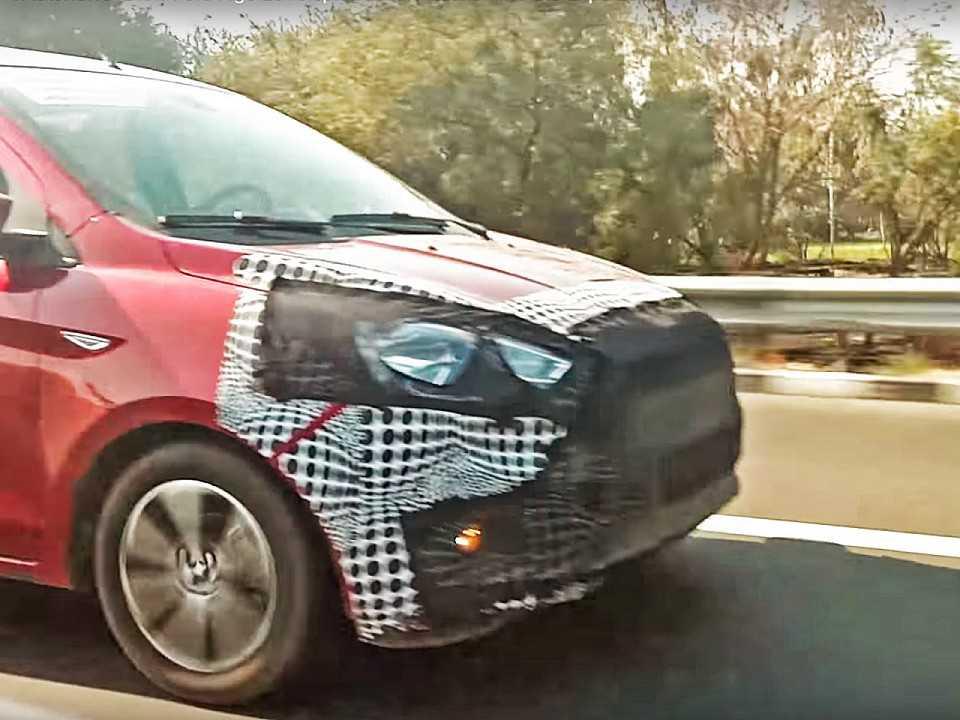 Ford Ka (Figo na Índia) é flagrado em estrada