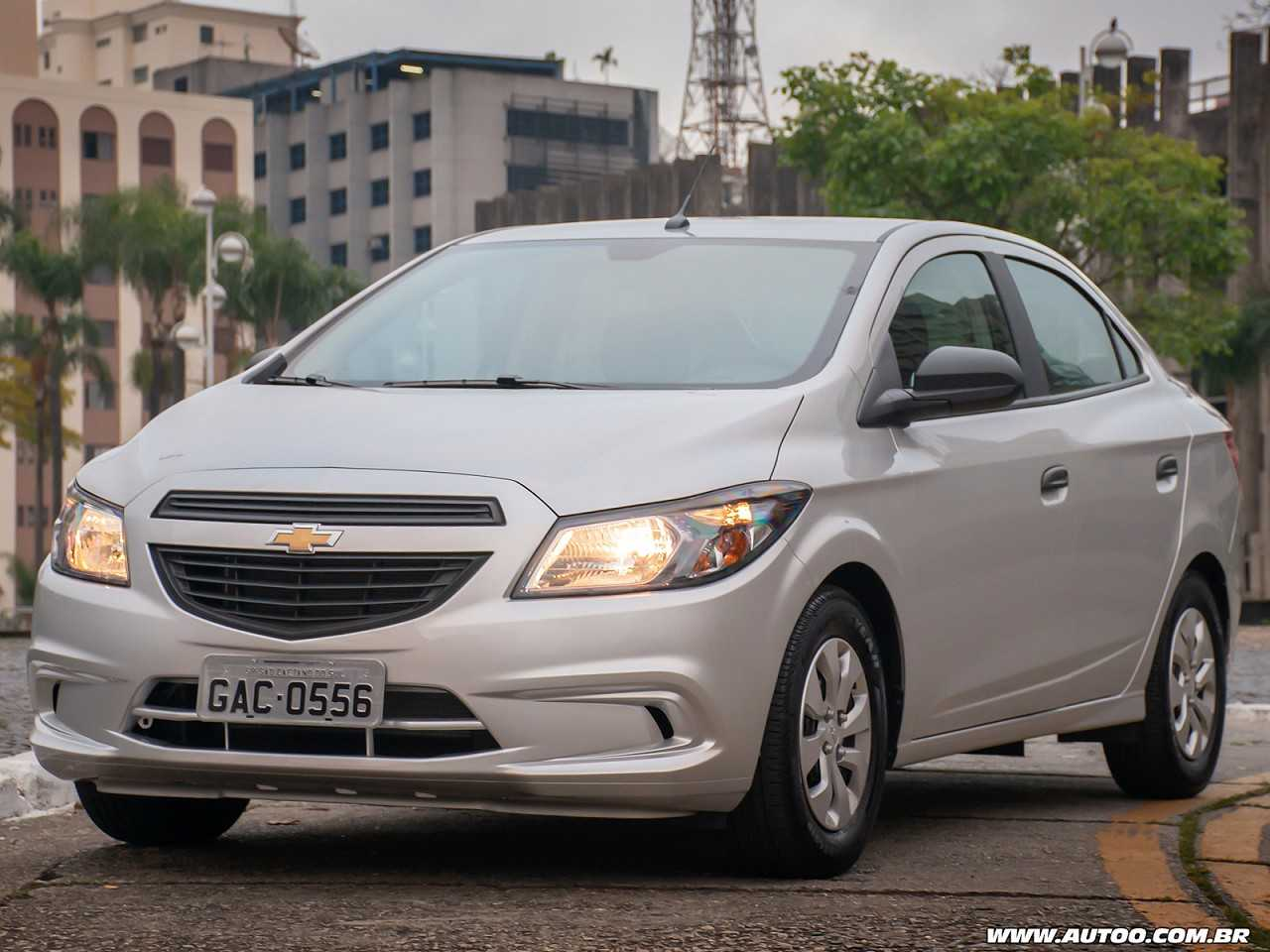 ChevroletPrisma 2019 - ângulo frontal