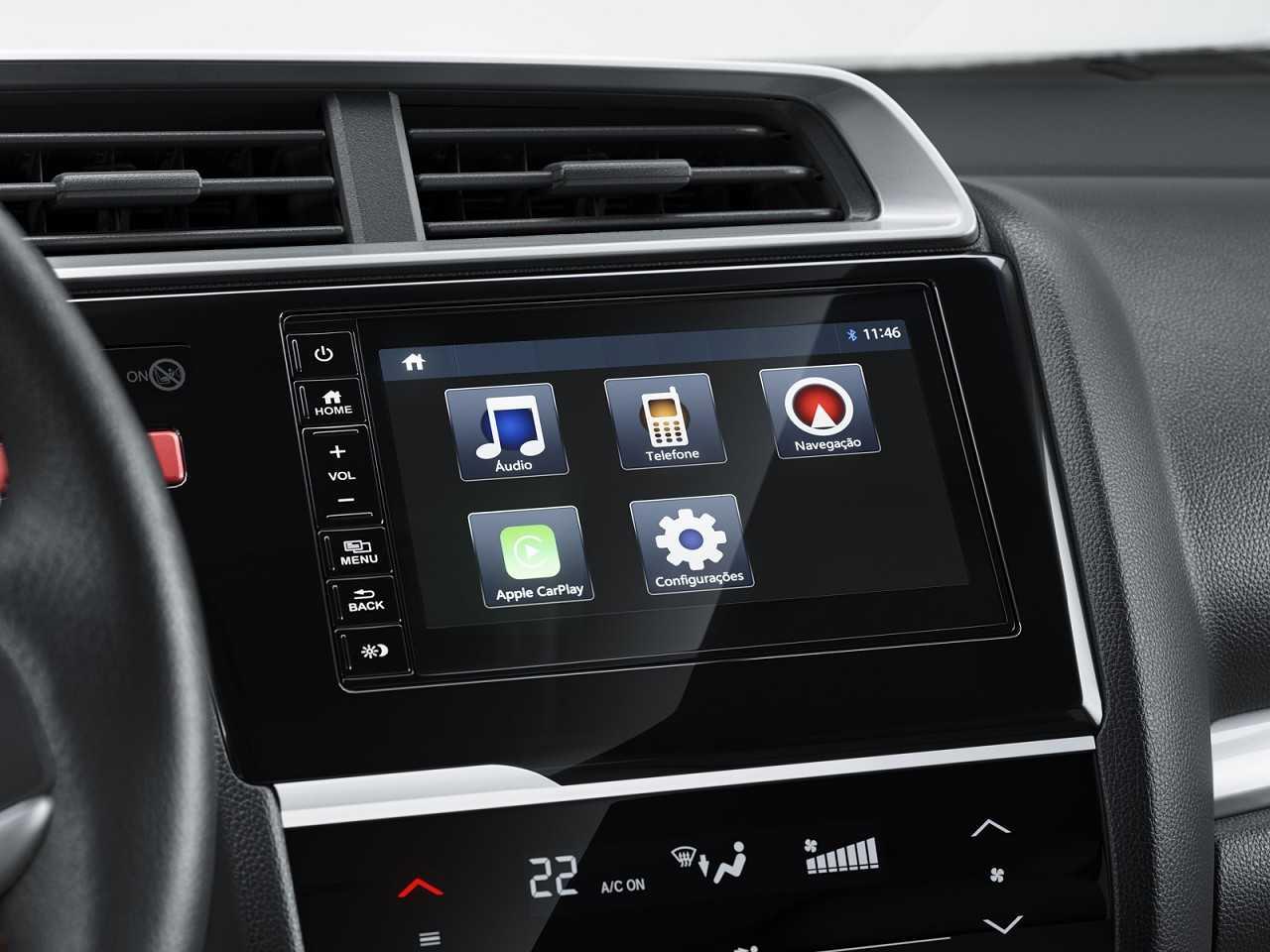 HondaWR-V 2019 - console central