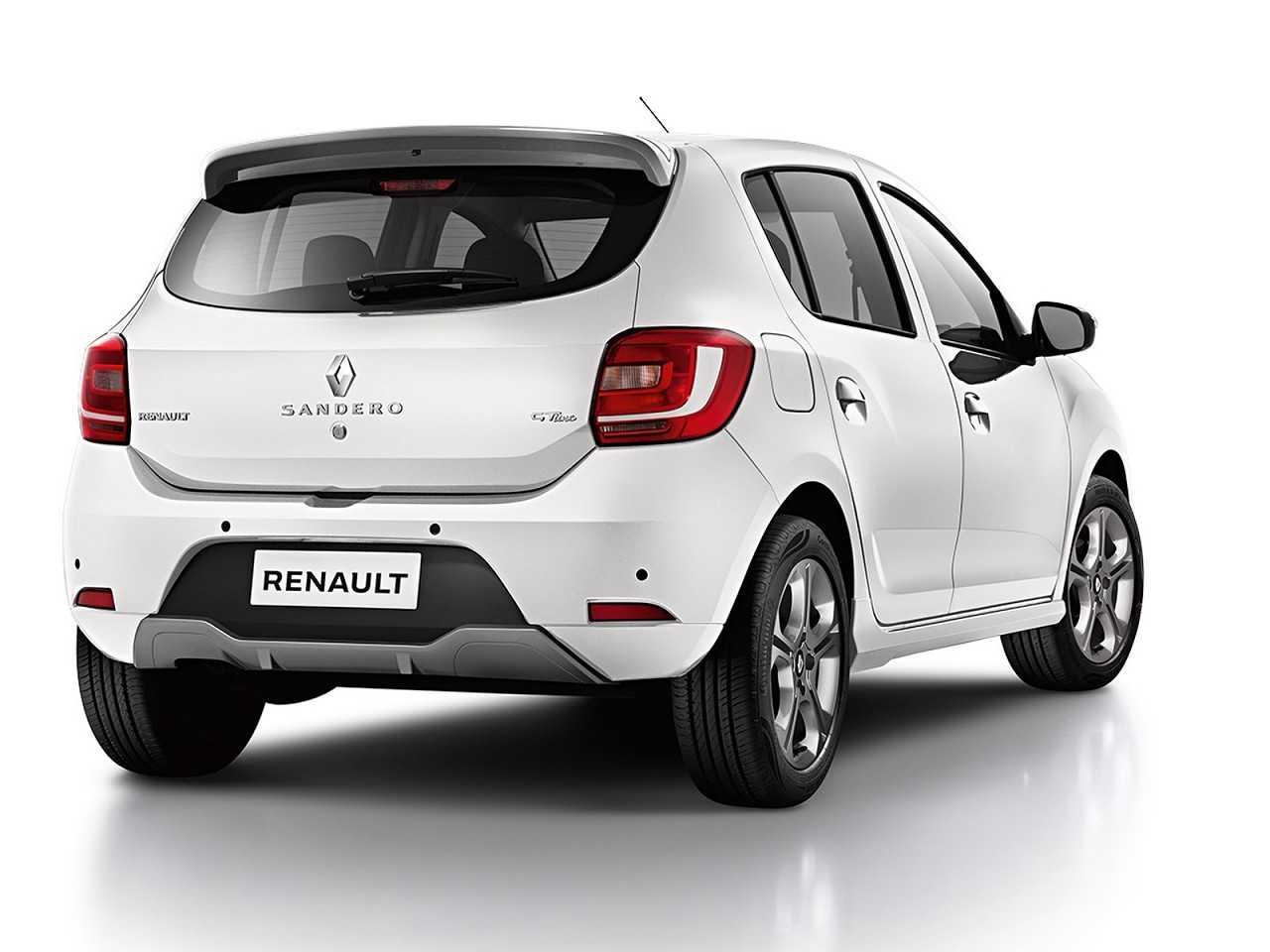 RenaultSandero 2019 - ângulo traseiro