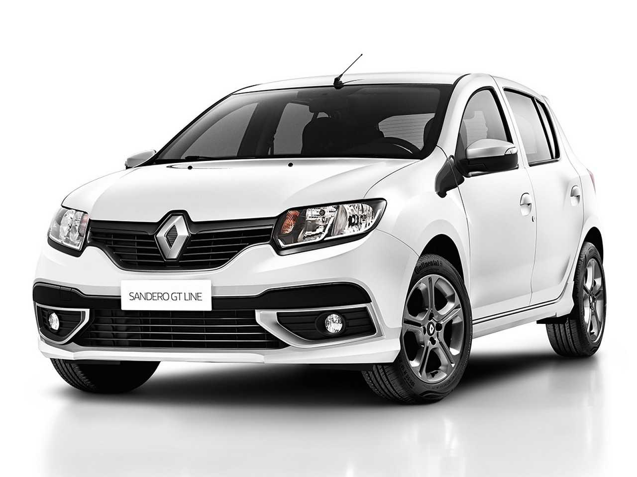 RenaultSandero 2019 - ângulo frontal