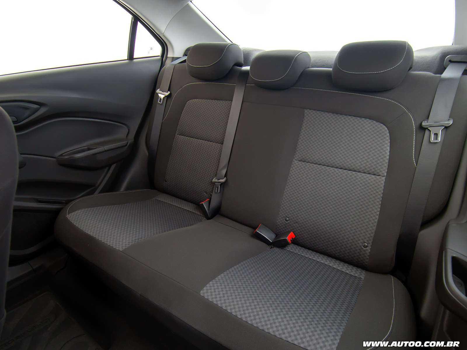 ChevroletPrisma 2019 - bancos traseiros