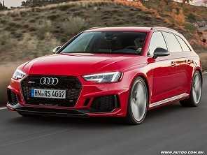 Salão de São Paulo: Audi exibirá a RS 4 Avant, station com 450 cv