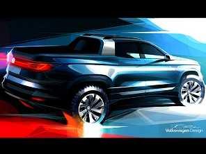Volkswagen confirma: marca terá uma rival da Fiat Toro no Brasil