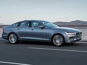 Volvo lança o sedã de luxo S90 no Brasil