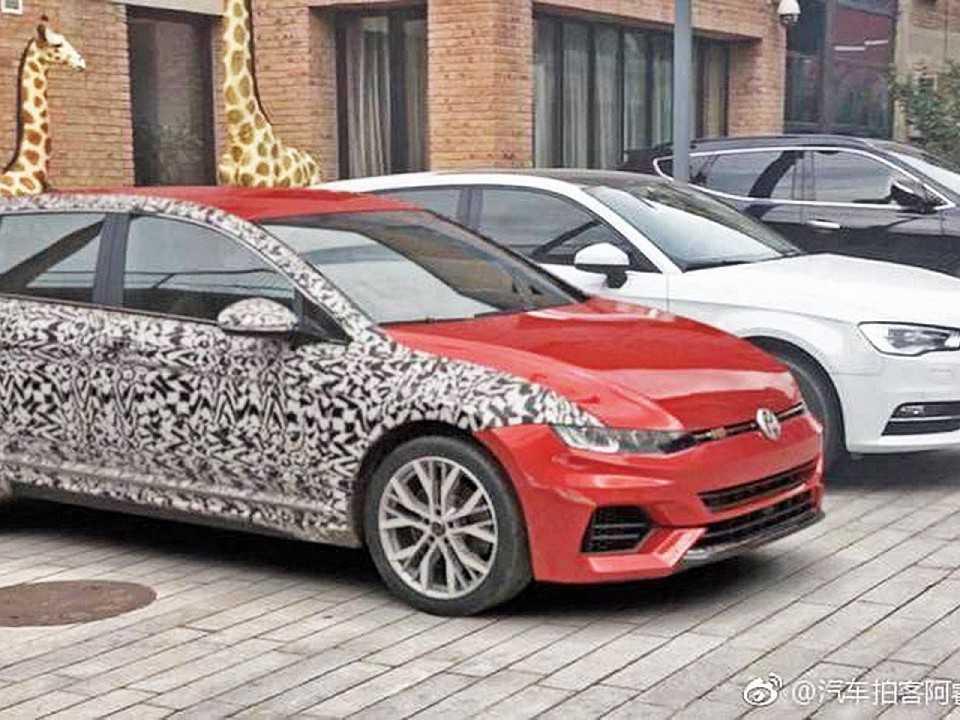 Imagem que circula na internet mostra o suposto Volkswagen Golf VIII: verdade ou não, ela parece coerente com futuro modelo
