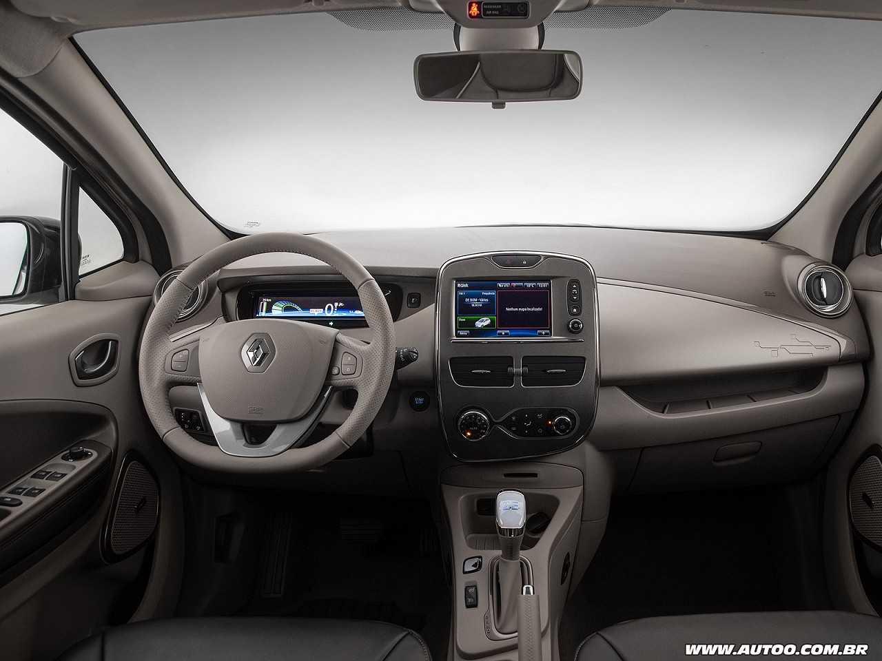 RenaultZoe 2018 - painel