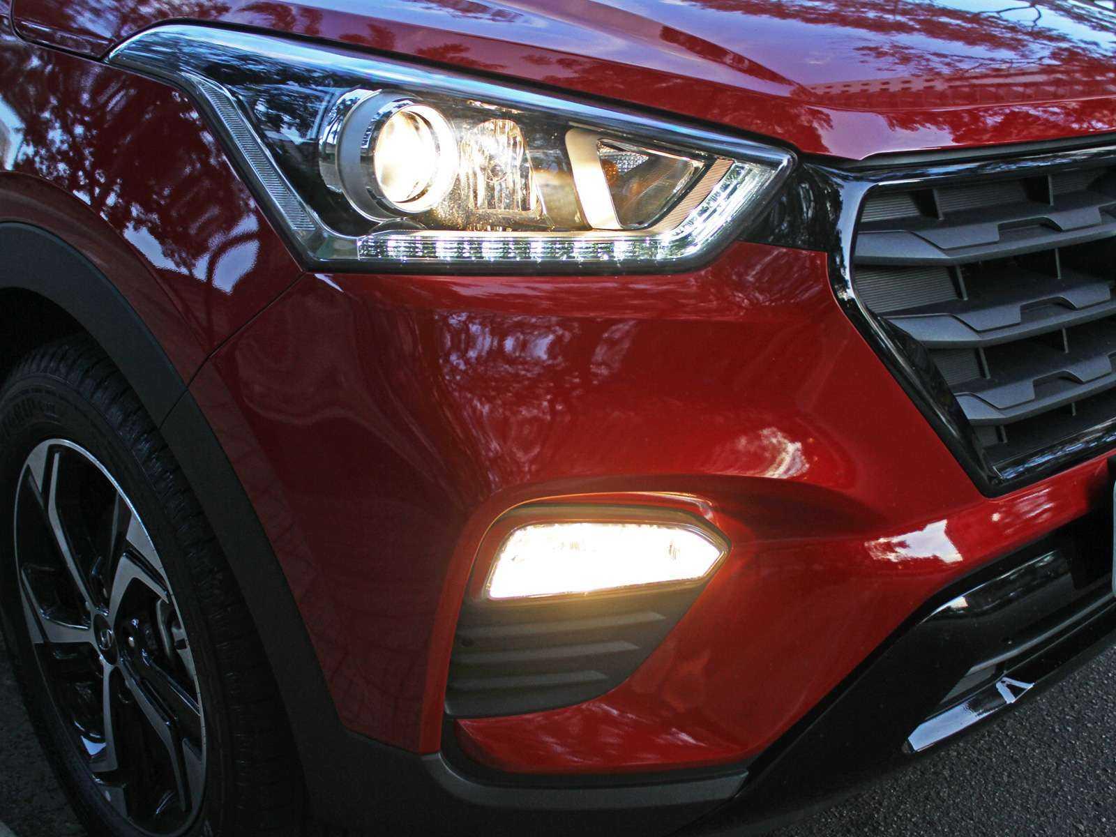 HyundaiCreta 2019 - faróis