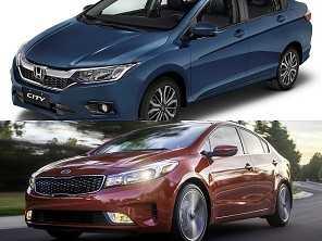 Sedãs 2019: um Kia Cerato ou um Honda City EXL?