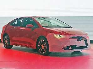 Novo Toyota Corolla 2020 vaza na China