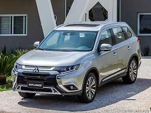 SUV 7 lugares, Mitsubishi Outlander estreia novidades na linha 2019