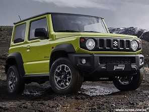 Jipe ''raiz'', Jimny Sierra terá opção de câmbio automático no Brasil