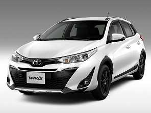 Toyota Yaris X-Way flerta com aventura sem assumir lado off-road
