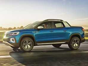 Volkswagen Tarok, a picape rival da Fiat Toro
