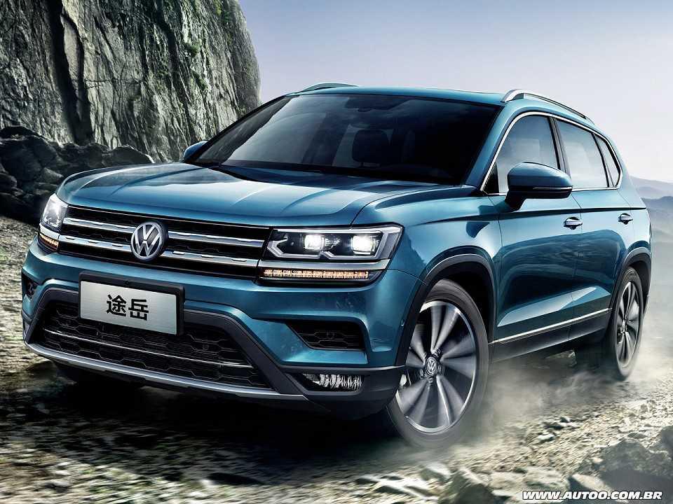 Acima o VW Tharu revelado na China. Por aqui poderá ser vendido como Tarek