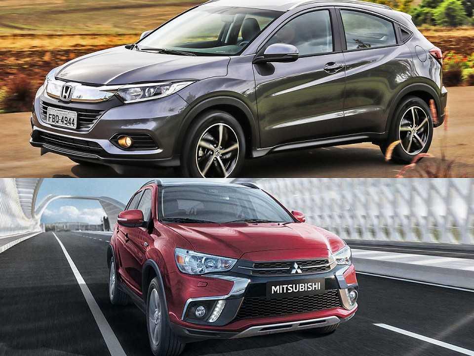 Honda HR-V e Mitsubishi ASX