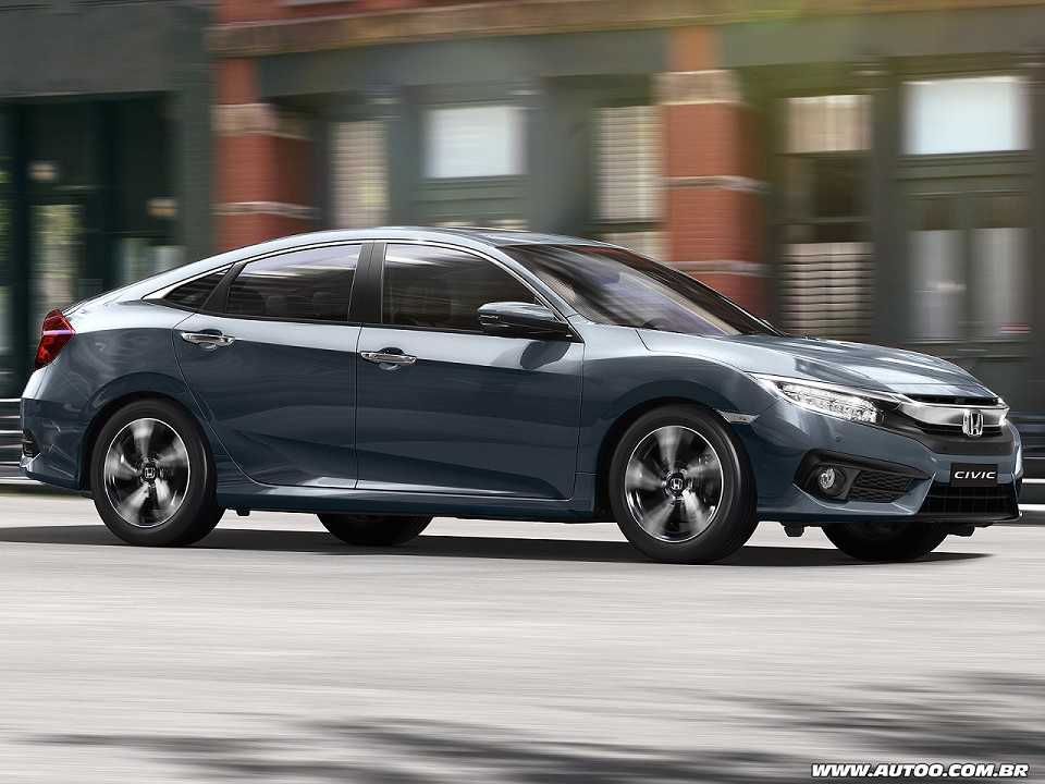 Honda Civic 2019 - ângulo frontal
