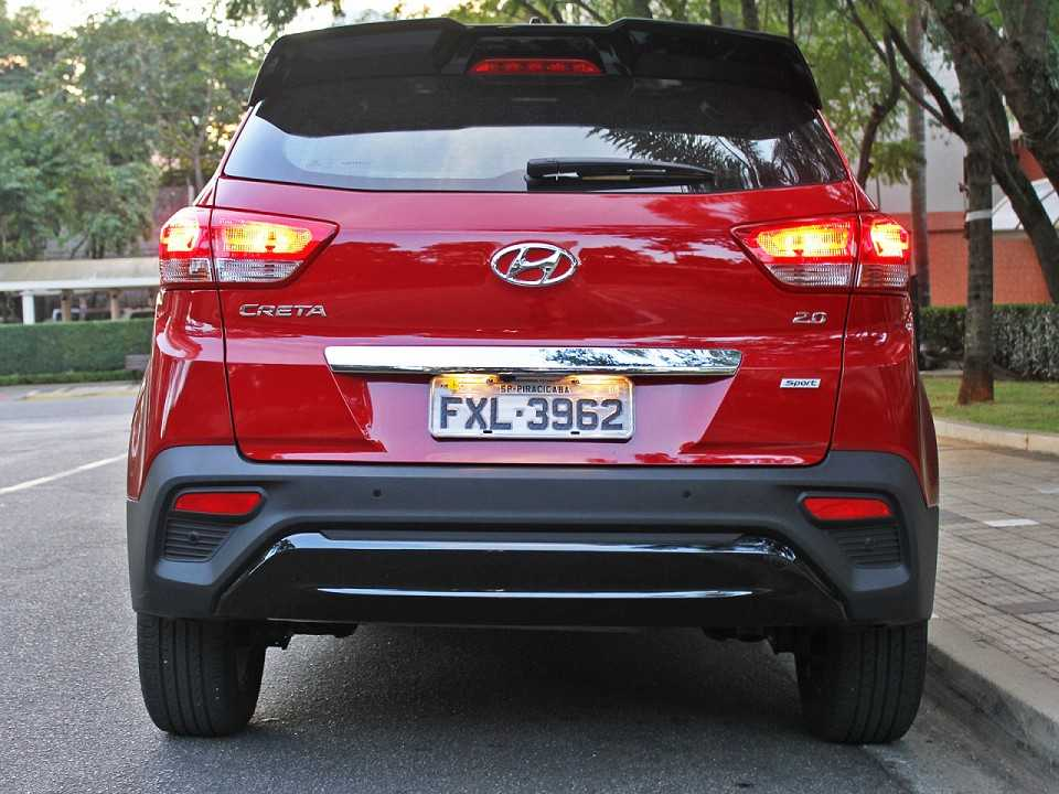 HyundaiCreta 2019 - traseira