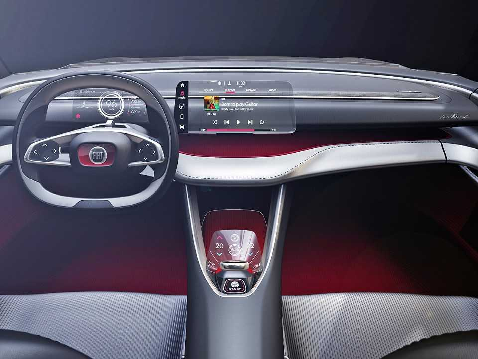 Painel do Fiat Fastback