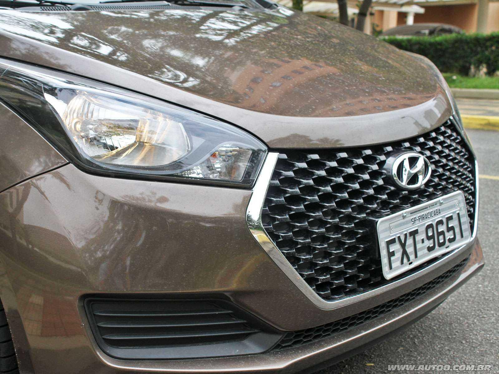 HyundaiHB20 2018 - grade frontal