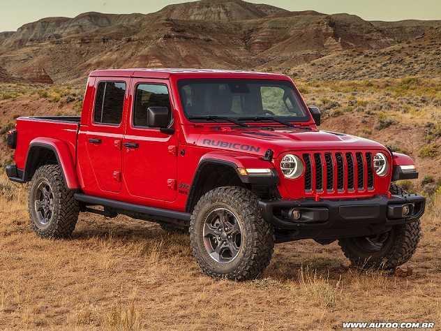 Prevista para o Brasil, Jeep Gladiator supera Amarok V6 em potência