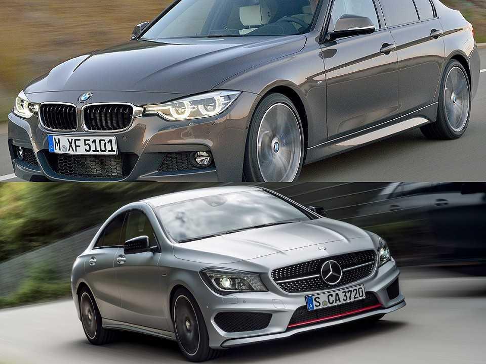 BMW Série 3 e Mercedes-Benz CLA