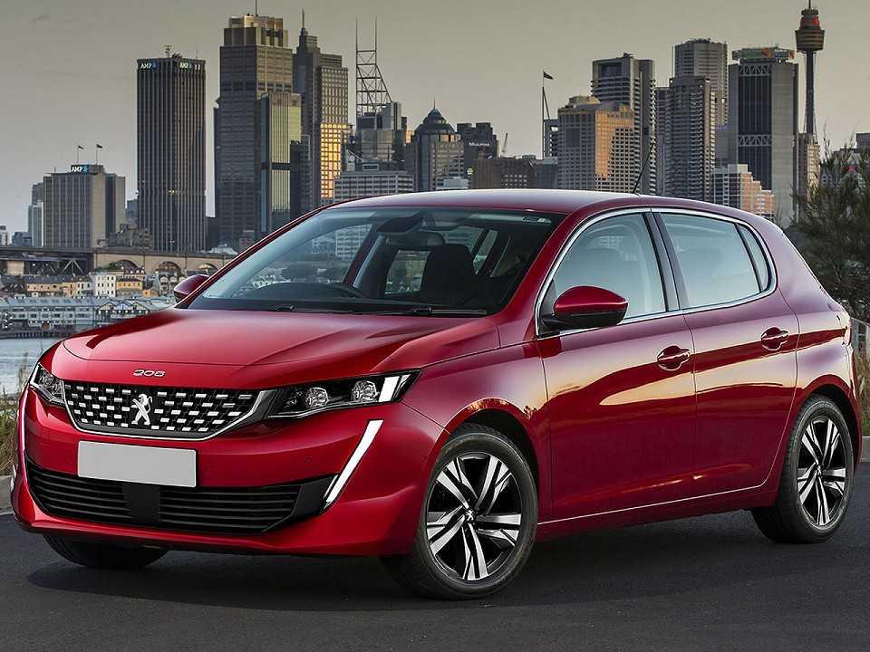 Projeção de Kleber Silva antecipando o novo Peugeot 208 2020
