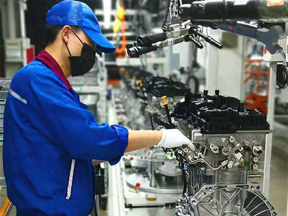 Chery inicia a produção de sua nova família de motores com o 1.6TGDI