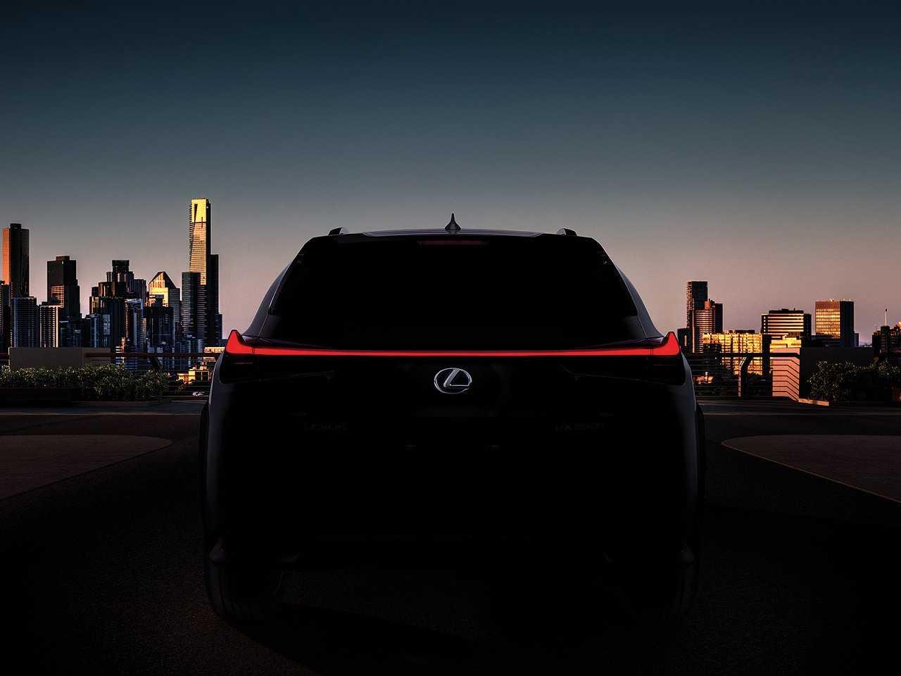 Teaser do Lexus UX F Sport