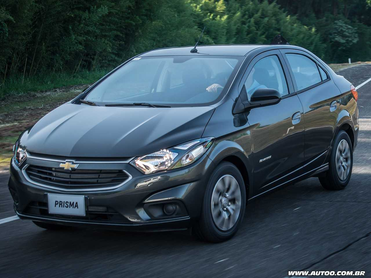 ChevroletPrisma 2018 - ângulo frontal