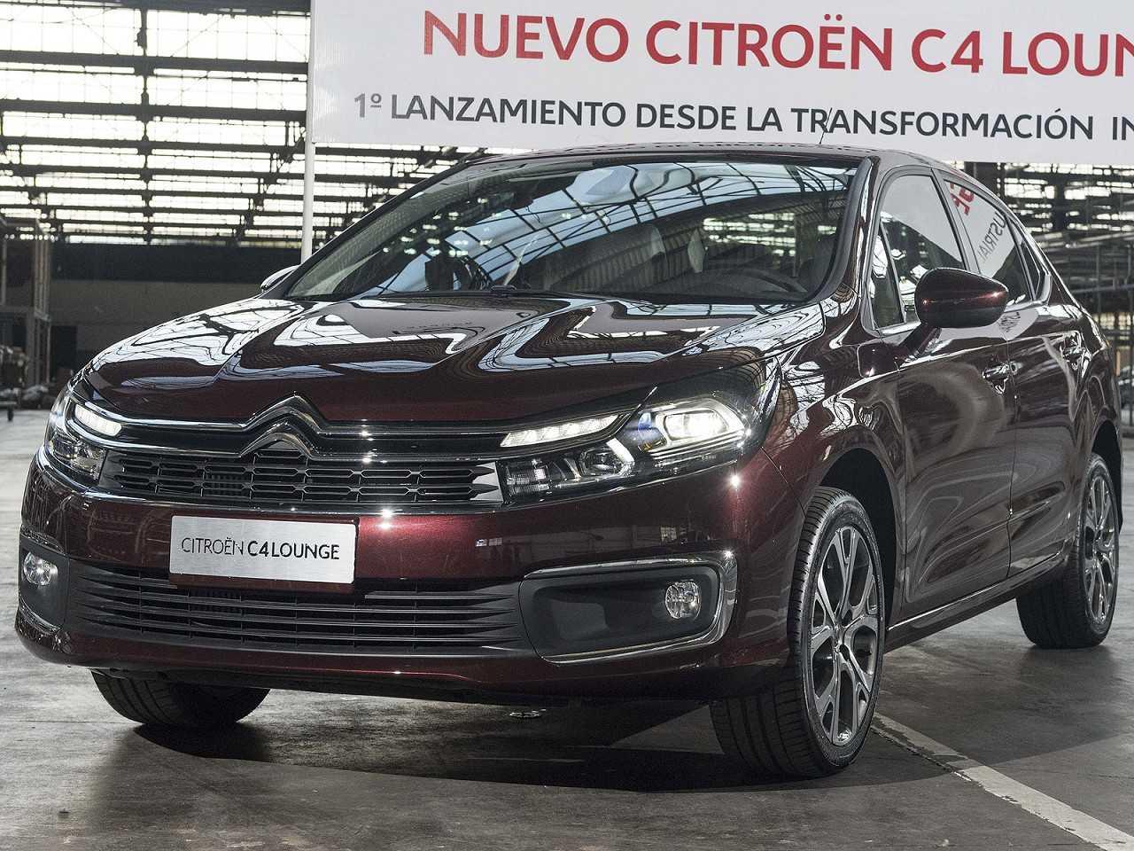 CitroënC4 Lounge 2019 - ângulo frontal