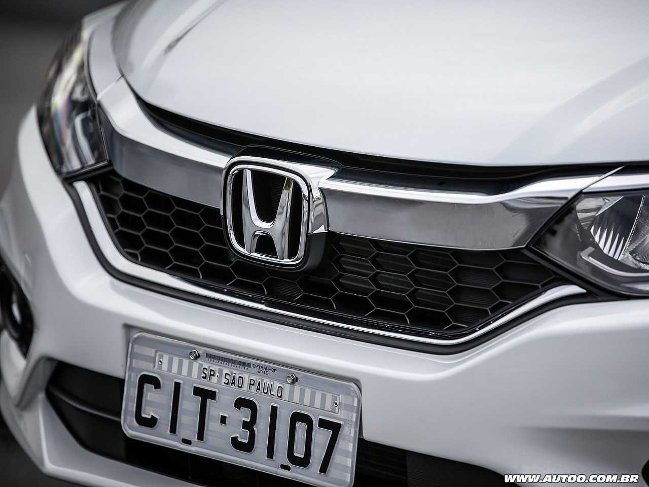 Honda City 2018 - grade frontal