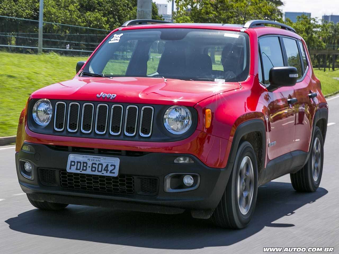 JeepRenegade 2018 - ângulo frontal