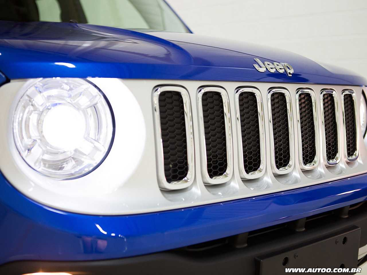 Jeep Renegade 2018 - grade frontal