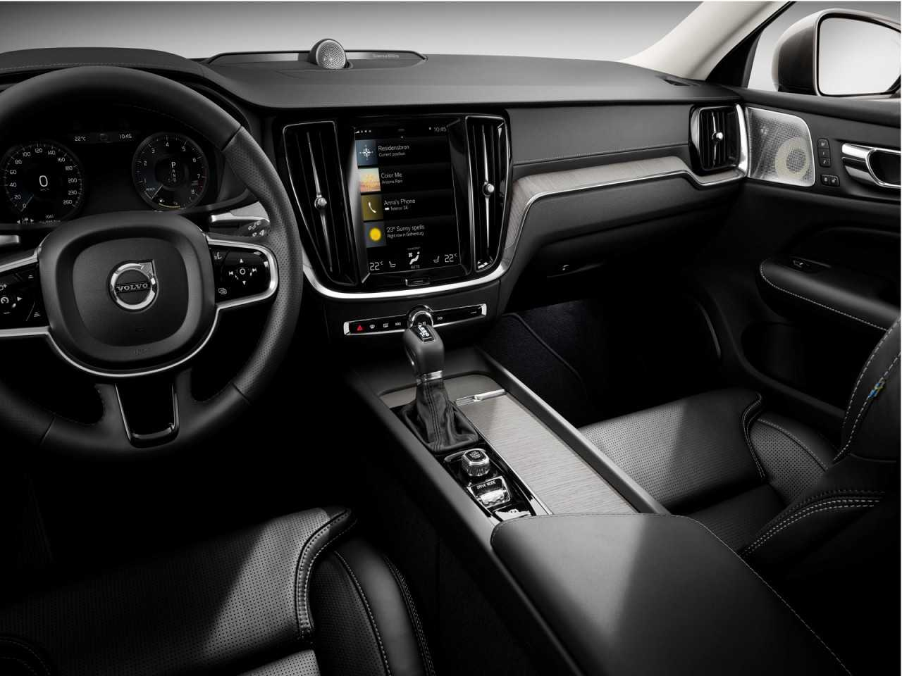 Volvo V60 2019 - painel