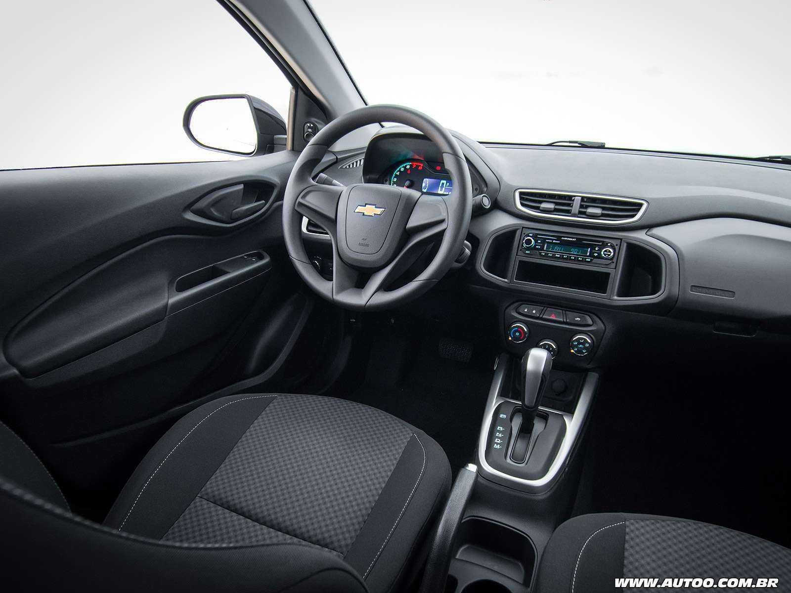 ChevroletPrisma 2018 - painel