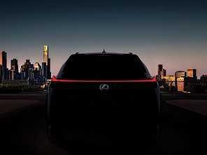 Lexus confirma apresentação do UX em março