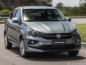 Teste: Fiat Cronos Drive 1.3 manual