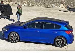 Novo Ford Focus 2019 é flagrado em sessão de fotografia