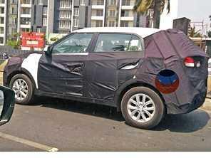 Hyundai Creta é flagrado com disfarces no exterior