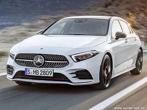 Mercedes Classe A 2019 estreia na Europa