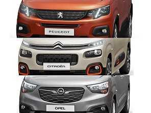 Peugeot e Citroën mostram nova geração da Partner e Berlingo