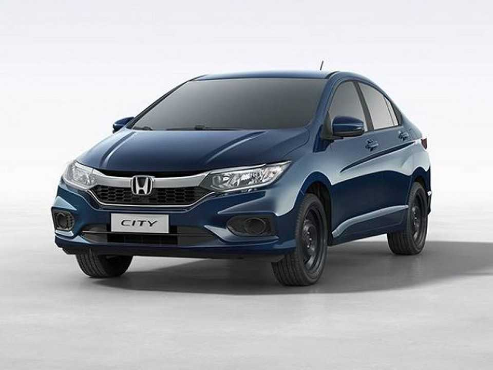 Acima o Honda City Personal 2018, versão destinada ao público PCD que não traz sequer calotas
