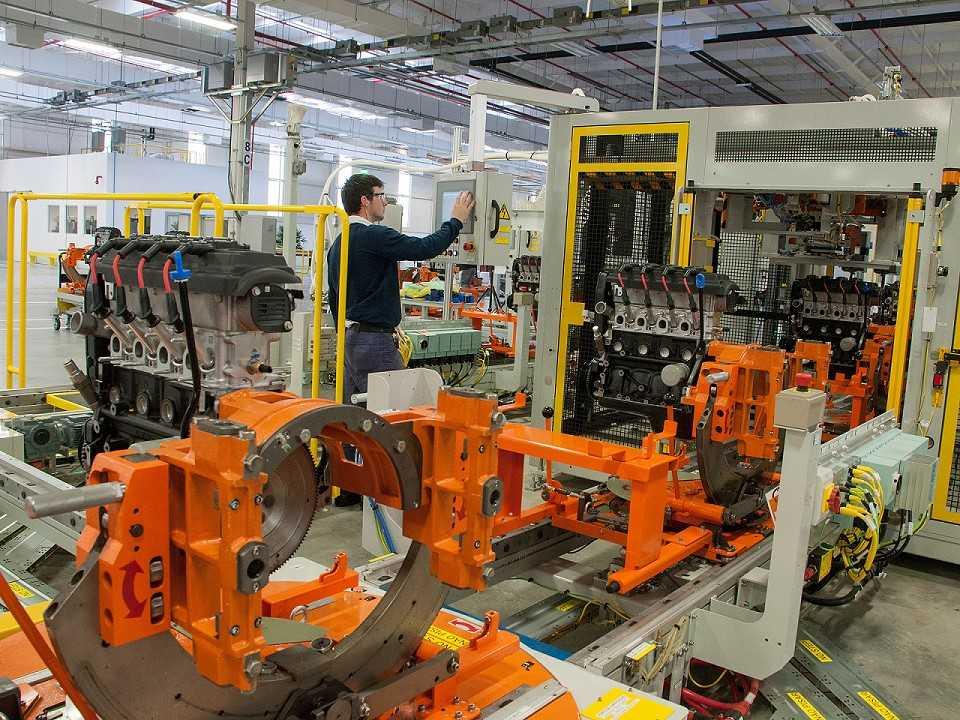 Fábrica de motores da GM em Joinville, Santa Catarina